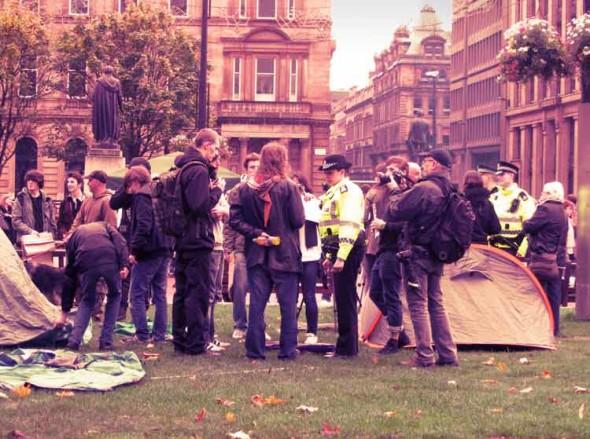 eltornillodeklaus occupy london camp police