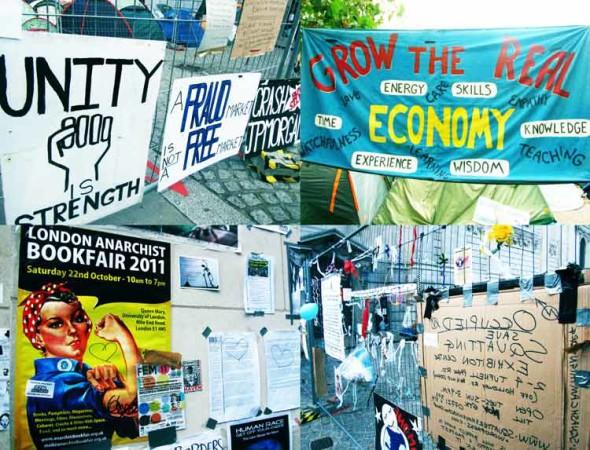 eltornillodeklaus occupy london cuatro-carteles