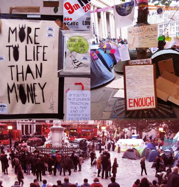 eltornillodeklaus occupy london more to life than money