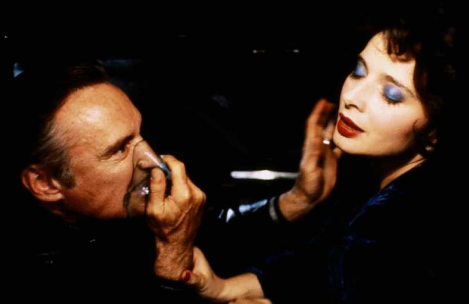 david lynch, isabella rossellini, dennis hopper, blue velvet, revista de cine, blue velvet imágenes,blue velvet 1986,