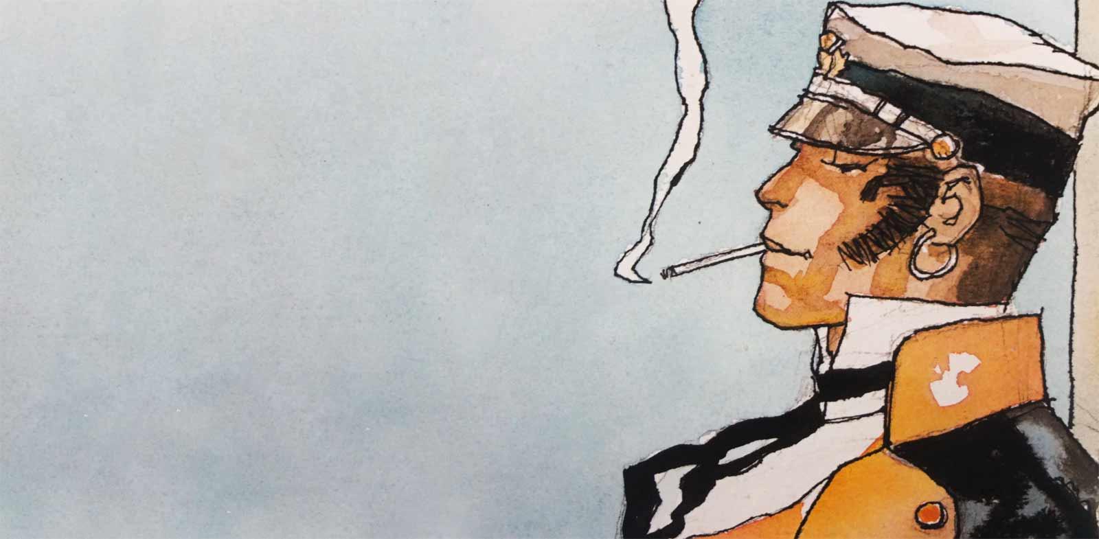 CORTO MALTÉS del comic a las películas: El hombre en movimiento