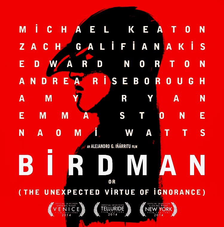 eltornillodeklaus-birdman-o-La-inesperada-virtud-de-la-ignorancia-or-the-unexpected-virtue-of-ignorance-poster-2