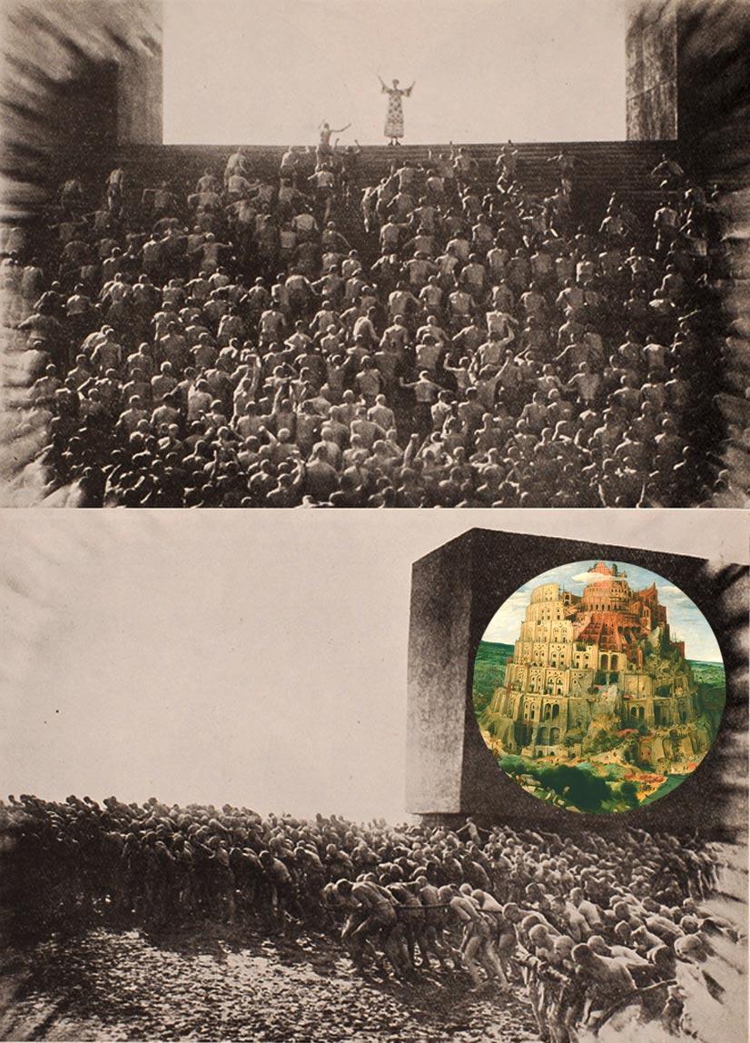 la torre de babel, babel metrópolis, metrópolis, metrópolis Fritz lang, metrópolis película, metrópolis H. G. Wells,
