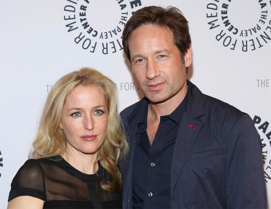 David Duchovny, Gillian Anderson, Expediente X, X files