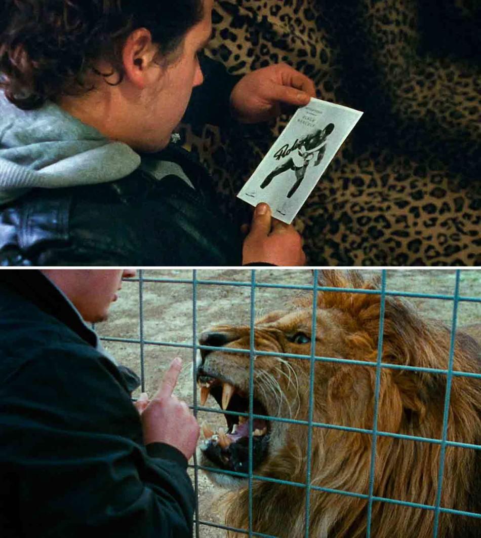 Mister Universo, Tizza Covi, Rainer Frimmel, leona, mister universo trailer, leon, circo, capitalismo