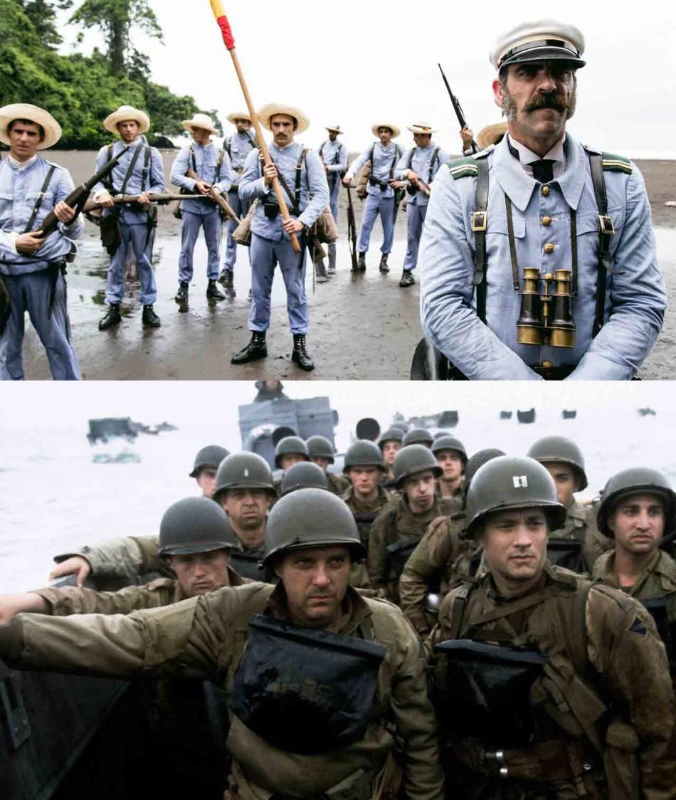 Los últimos de Filipinas, Salvar al soldado Ryan , cine belico, accion, film, luis tosar, spielberg