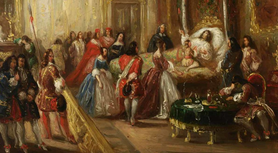 Thomas Henry , Louis XIV, pintura, arte, cine