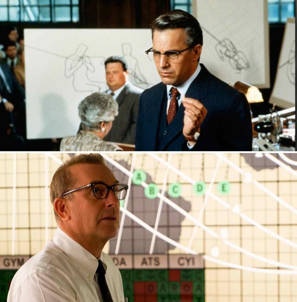 Kevin Costner, gafas de pasta, JFK, Hidden Figures, oscars 2017, oscar, oscars,