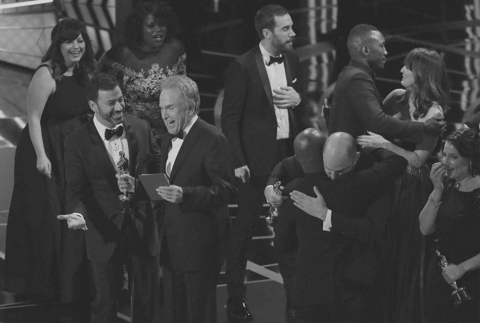 Warren Beatty, Oscar, equivocacion, error, gala