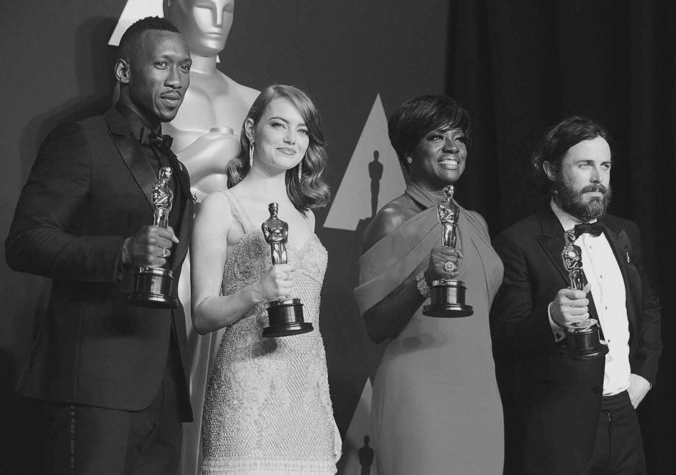Oscars, Winners, ganadores, Moonlight, La la land