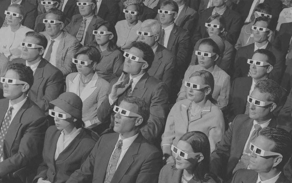 People, Cinema, 3D glasses