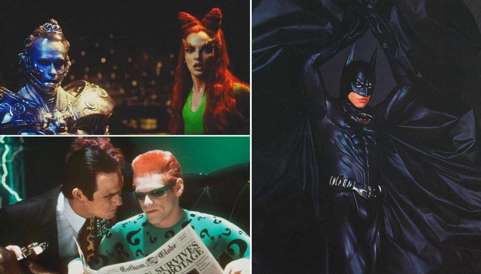 Batman, Tomy Lee Jones, Jim Carrey, Uma Thurman, Val Kilmer,