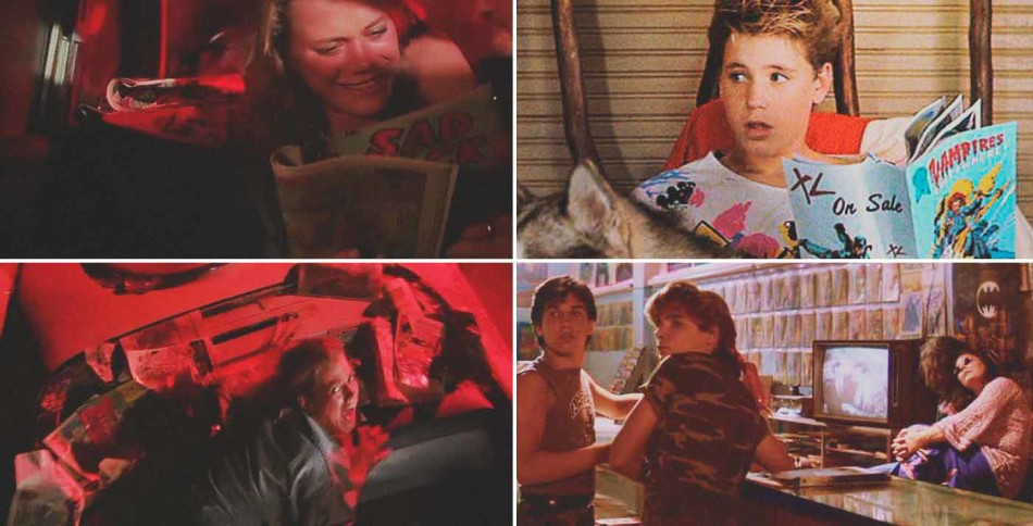 Corey Haim, Corey Feldman, The lost Boys, comic