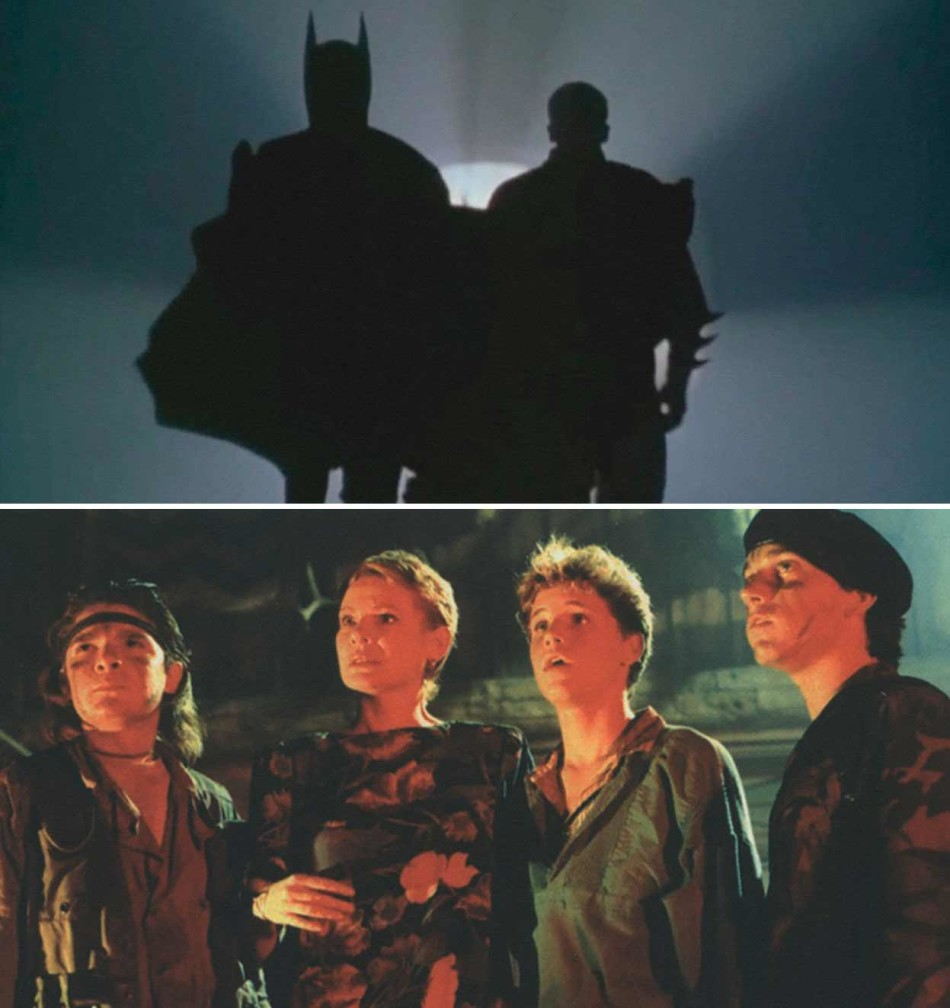the Lost Boys, Batman, Robin, Schumacher, GeorgeClooney,