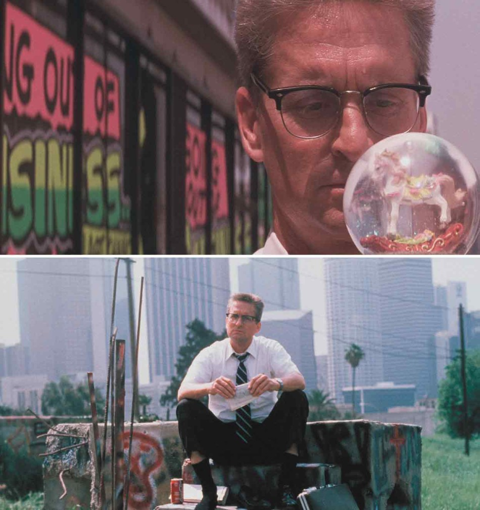 Michael Douglas, Joel Schumacher, Falling Down, The Punisher,
