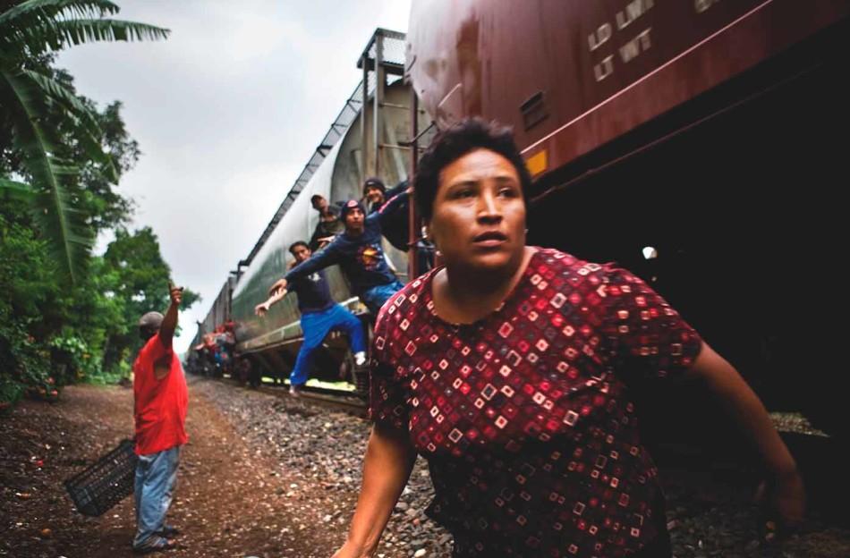 María en tierra de nadie, The Beast, Maras, Mexico, Inmigración,