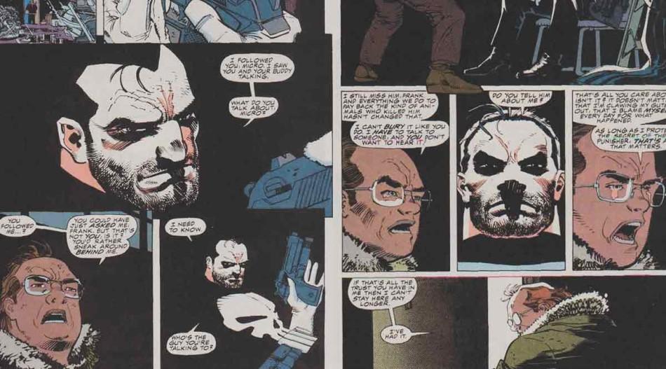 Punisher, War Zone, micro, Frank Castle, THE DEFENDERS: La telebasura nunca se fue de nuestros hogares, the defenders, el tornillo de klaus revista de cine,